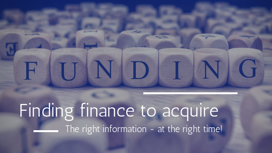 Funding a distressed acquisition